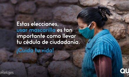 Protéjase y cuide su salud al acudir a votar