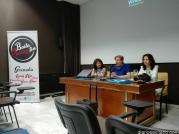 OLGA RUANO Y LAS DIRECTORA DEL CENTRO MEDITERRANEO INAUGURARON LAS JORNADAS SWING 16