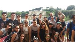 ESTUDIANTES SEXITANOS EN ROMA