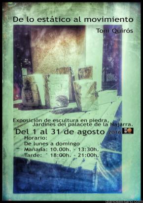 TONY QUIRÓS ESCULTURA EN LOS JARDINES DEL PALACETE LA NAJARRA 16