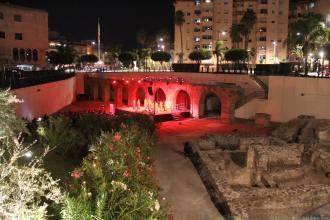 escenario-festival-teatro-junto-al-acueducto-romano-de-almunecar