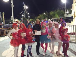 LAS CANDY GIRLS SEGUNDO PREMIO GRUPO CORTO CARNAVAL ALMUÑECAR 16