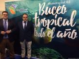 TENIENTE DE ALCALDE Y DELEGADO DE TURISMO PRESENTAN EN FERIA BUCEO DTS MADRID CAMPEONATO MUNDIAL FOTOGRAFIA LA HERRADURA 17 (2)