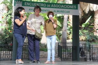HOMENAJE A TRANSPLANTADAS EN FERIA ASOCIACIONES ALMUÑECAR 17