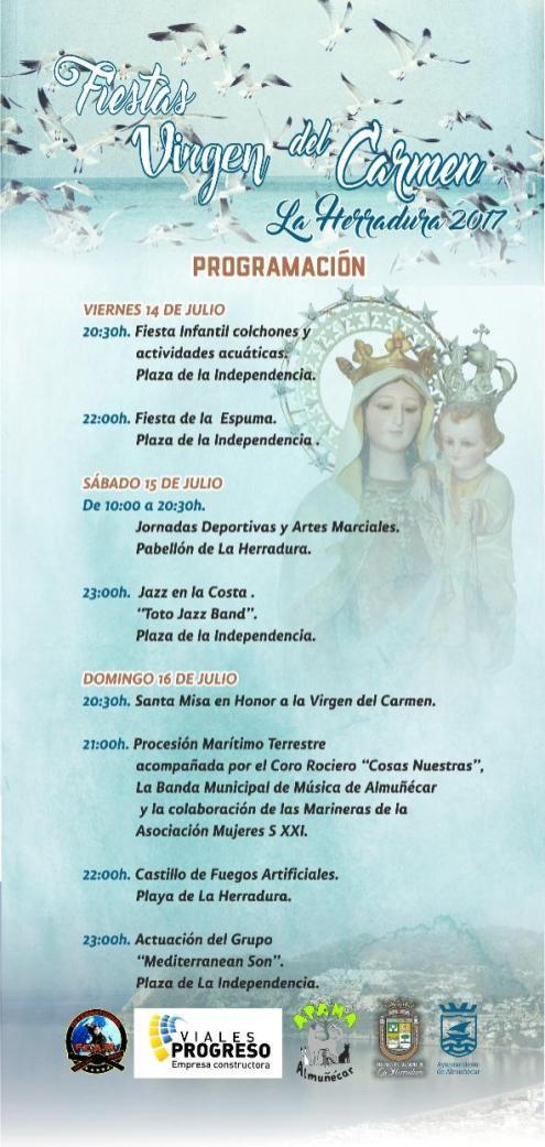 PROGRAMA FIESTAS CARMEN LA HERRADURA 17