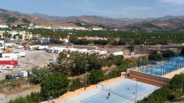 TRABAJOS EN AL ZONA DE CN 340 APARCAMIENTO DESDE PRINCIPE ASTURIAS 17