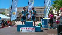 Los ciclistas herradureños subieron a lo más alto del podio junior en la Subida a Los Castillejos 17