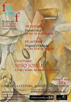 CARTEL FESTIVAL GUITARRA FLAMENCA CIUDAD DE ALMUÑECAR 17