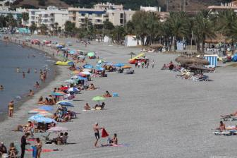 Playa La Herradura ultimos dia de septiembre 17