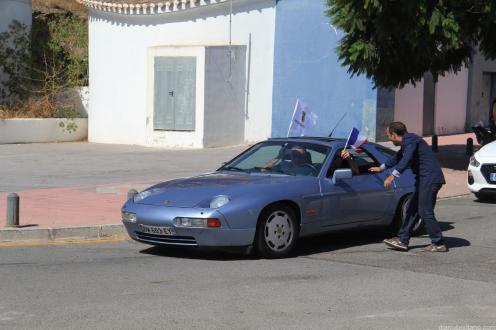 VARIOS PORSCHES LLEGARON DESDE FRANCIA A LA CONCENTRACIÓN 17