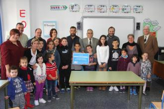 ACTO ENTREGA GALARDON UNICEF COLEGIO VIRGEN ANTIGUA