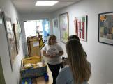 Alumnas visitaron las instalaciones de AVOI en hospital 17 (1)