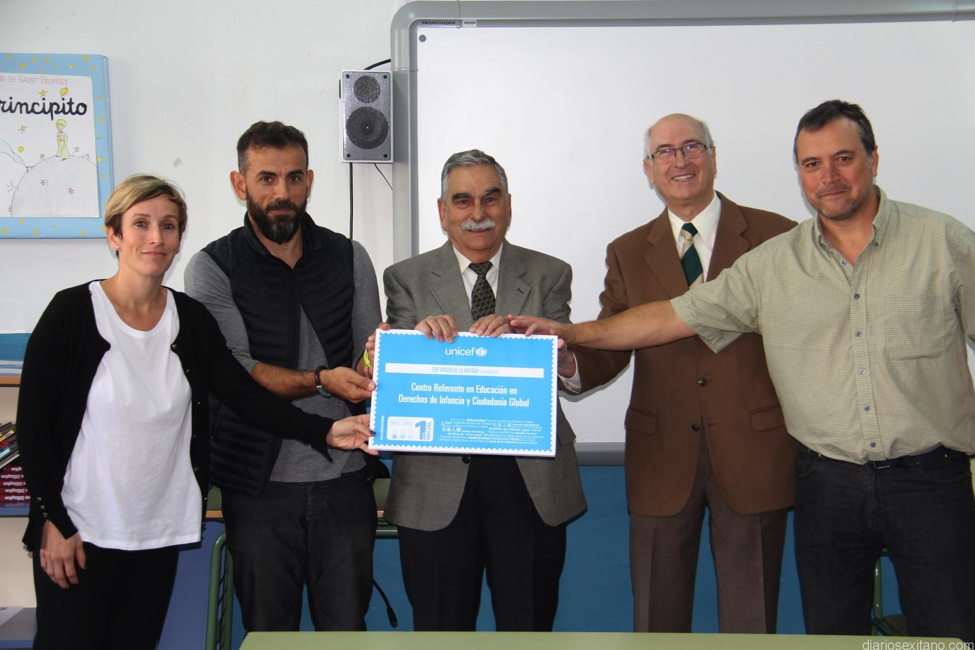 DELEGADO UNICEF Y COLEGIO VIRGEN ANTIGUA ALMUÑECAR 17