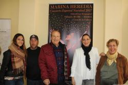 MARINA HEREDIA Y CURRO ALBAICIN PRESENTACION CONCIERTO NAVIDAD EN ALMUÑÉCAR 17