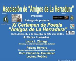 ACTO ENTREGA PREMIOS POESIA AMIGOS LA HERRADURA 17