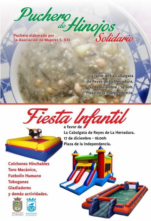 PUCHERO SOLIDARIO Y FIESTA INFANTIL EN LA HERRADURA 17