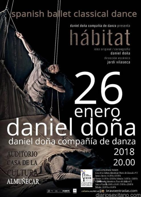 HABITAT CON DANIEL DOÑA EN ALMUÑECAR ESTE VIERNES 18