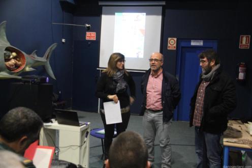 LUIS ARAGON DIO LA BIENVENIDA PARTICIPANTES JORNADA A ALMUÑECAR 18