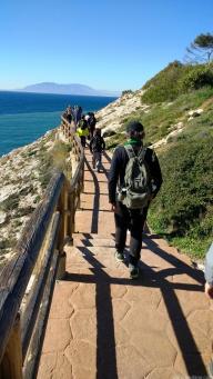 Sendero por la costa malagueña que recorrieron los sexitanos 18