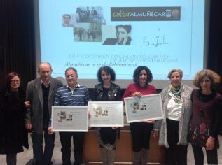 Acto entrega premios Cartas Amor y Desamor Almuñécar 2018
