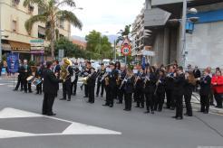 BANDA MUNICIPAL DE MUSICA ALMUÑECAR INTERPRETA HIMNO ANDALUCIA EN EL ACTO 18