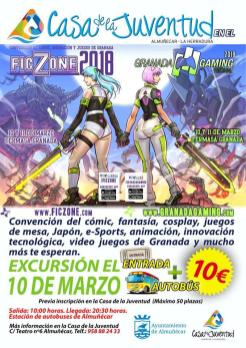 VISITA A FICZONE GRANADA 10 MARZO 18