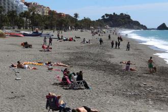 Ambiente playa San Cristóbal Almuñécar 18 (2)