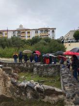 Arqueologa municipal explica historia acueducto y termas romanas Almuñécar 18
