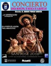CONCIERTO BANDA MUSICA ALMUÑECAR SAN JOSE 2018