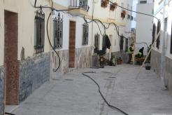 Calle San Pedro a punto de concluir los trabajos de rehabilitación 18