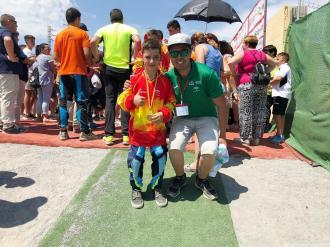 ALVARO VALDERRAMA Y ALVARO PEREZ JUAREZ PREPARADORA BMX ALMUÑECAR 18