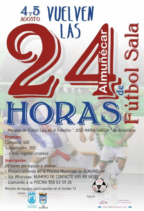 24 HORAS FUTBOL SALA ALMUÑÉCAR 18
