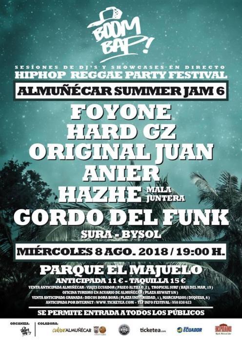 FESTIVAL ALMUÑECAR SUMMER JAM 6 18