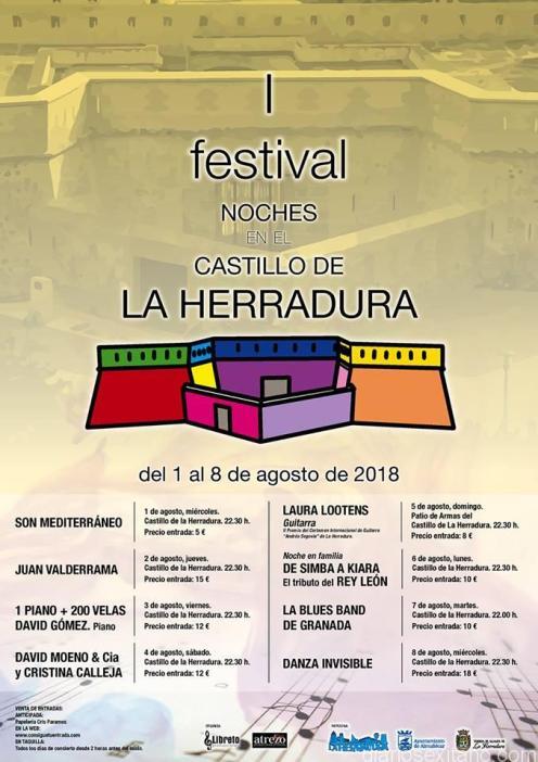 PROGRAMA I FESTIVAL CASTILLO DE LA HERRADURA 18