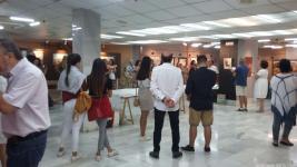 ASISTENTES AL ACTO INAUGURAL EXPOSICION CASA CULTURA 18
