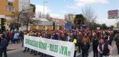 MANIFESTACION AGRICULTURA ALCALDESA GRANADA 8