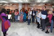 ACTO INAUGURAL EXPOSICION ARTISTICA EN CASA CULTUR 20