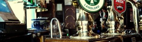 Londres: pubs derradeiros