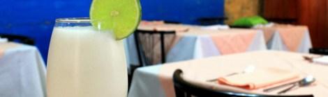 A limonada de coco de Cartagena de Indias