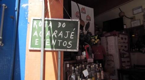 Rota do Acarajé: bom botequim baiano