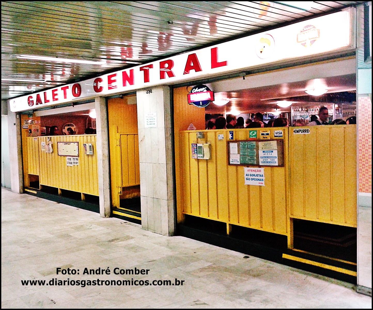 Galeto Central, Rio de Janeiro, braseiro