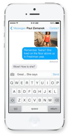 Mensajes / Imagen: www.apple.com