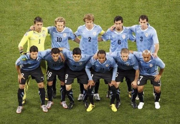 uruguay en sudafrica 2010