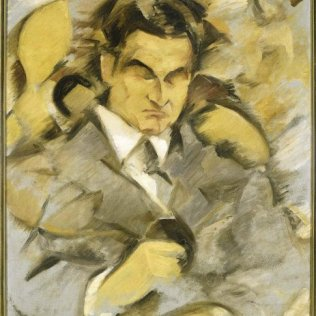 Retrato de Alberto Lasplaces