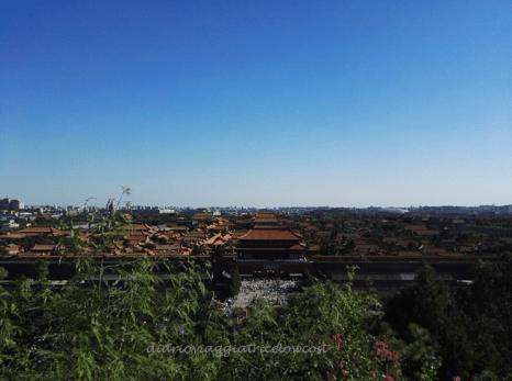 La vista sulla Città Proibita