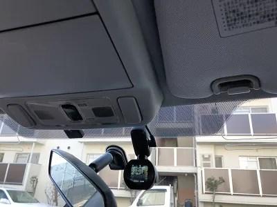 ドライブレコーダー 取り付け