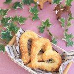 ハートパンとブラックココアのプチカンパーニュ(写真WS継続クラスその1)