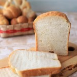 ハナマンテンの食パン。ホームベーカリーを使って