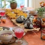「ハロウィンテーブル」マンスリーレッスンは本日最終日でした。