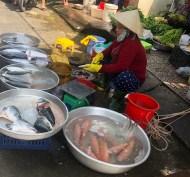 seafood market vendor
